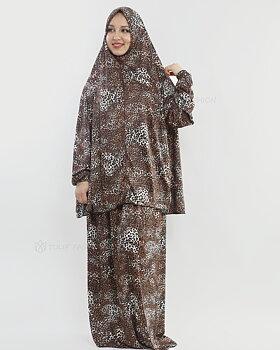Bönekläder Jersey Lycra - Mörkbrun