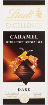 lindt EXCELLENCE CARAMEL WITH A TOUCH OF SEA SALT DARK