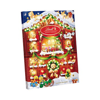 LINDT TEDDY ADVENT CALENDAR CHOCOLATE