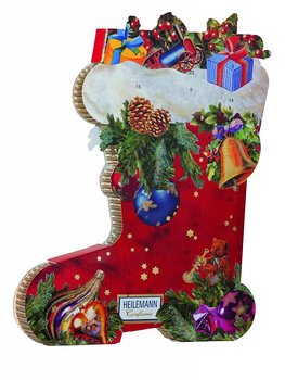 Calendar Christmas stocking