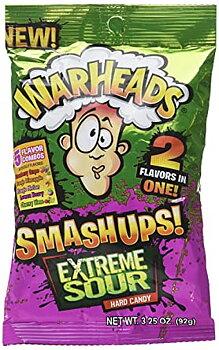 WARHEADS SMASH UPS EXTREME SOUR HARD