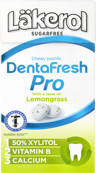 Läkerol DentaFresh Pro Lemongrass
