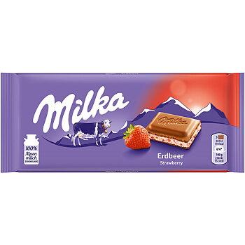 Milka Erdbeer Strawberry
