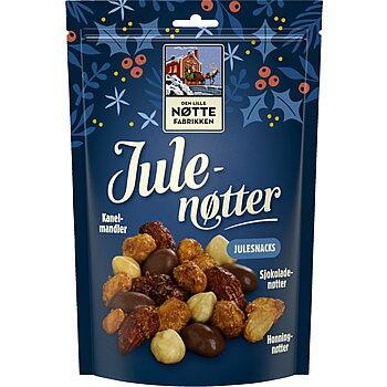 Nötmix Julenøtter Den Lille Nøttefabrikken 180 g