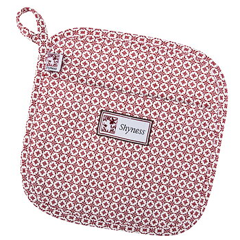 Shyness Potholder Destiny White/Red