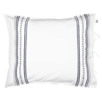 Shyness Pillow Case Bolster Navy/White