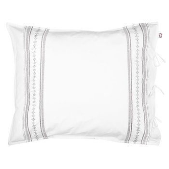 Örngott Pillow Case Bolster Grey/White