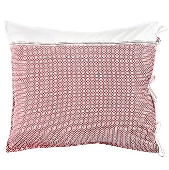 Shyness Pillow Case Destiny White/Red