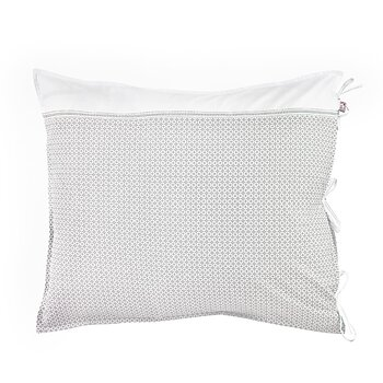 Shyness Pillow Case Destiny White/Grey