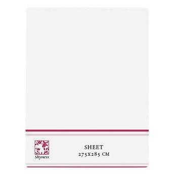 Shyness Sheet 275*285 cm White