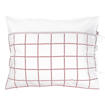 Pillow Case Classic Red/White
