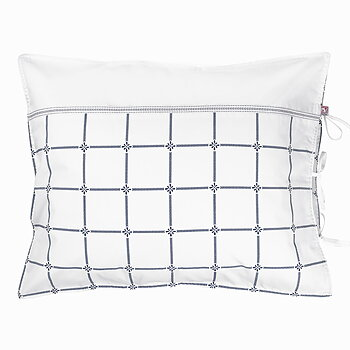 Pillow Case Classic Navy/White