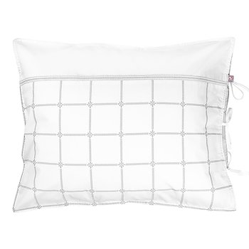 Pillow Case Classic Grey/White