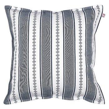 Shyness Cushion Bolster White/Navy