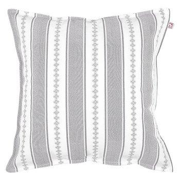 Shyness Cushion Bolster White/Grey