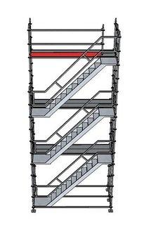 Trapptorn 3 våningar till modulställning