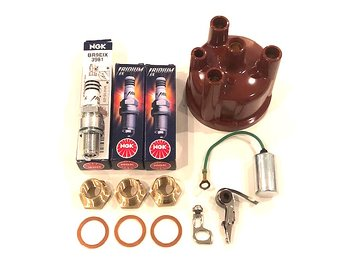 Tändnings kit Irridium 9 Saab 93, 96 -1962