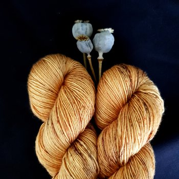 Emelilyknits Dreamy Silk 100g Freckled Pumpkin