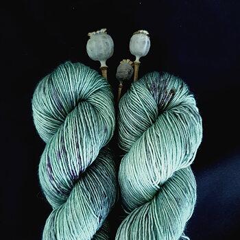 Emelilyknits Dreamy Silk 100g Artichoke Flower