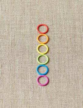 Large Colorful Stitch Markers 9mm
