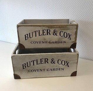Låda trä förvaring Convent Garden