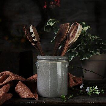 Keramikkrus- grå