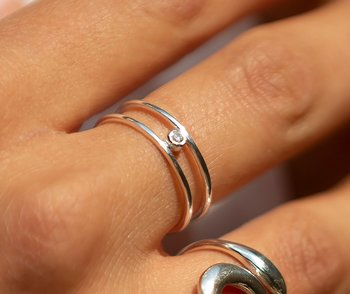SILVERRING SWEETSTONE