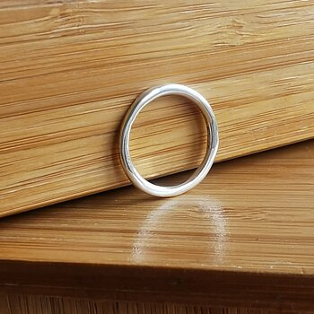 SILVERRING PLAIN ROUND 2MM, 925 STERLING SILVER