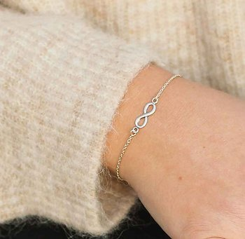 SILVERARMBAND INFINITY DELICATE