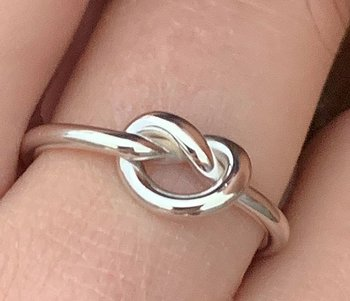 SILVERRING BIG KNOT