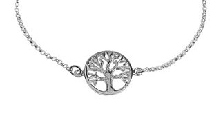 SILVERARMBAND TREE OF LIFE SHINY