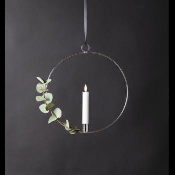 Inomhusdekoration - ring med ljus