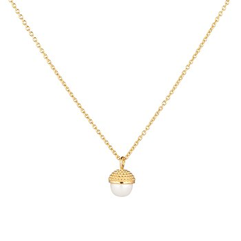 Pearl bubble long neck 70-75 gold