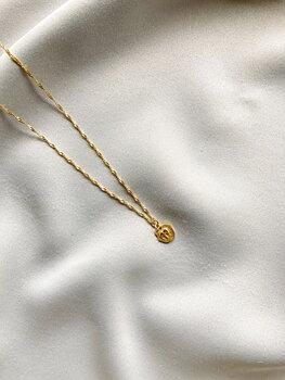 Letters elephant pendant gold