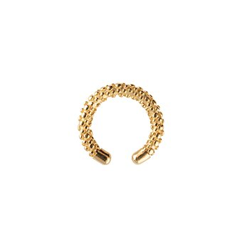 Victory bubble cuff ear gold