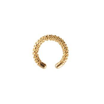 Victory bubble cuff ear gold