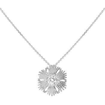Gatsby stone brosch / pendant silver