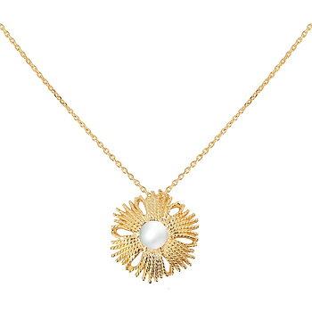 Gatsby pearl brosch/pendant gold