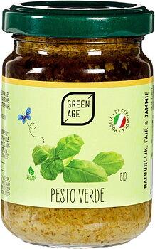 Pesto Grön 140g Green Age Eko