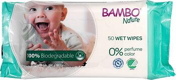 Babyservetter 50st Bambo