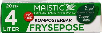 Fryspåsar 4 liter Komposterbara Maistic