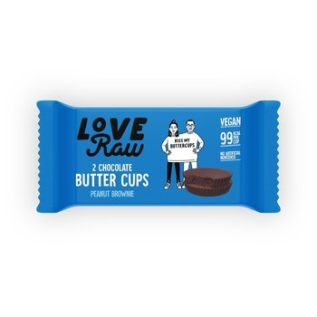 Choklad Raw Brownie Peanut Cup 34g Love
