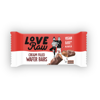 Choklad Cream Wafer 43g Love