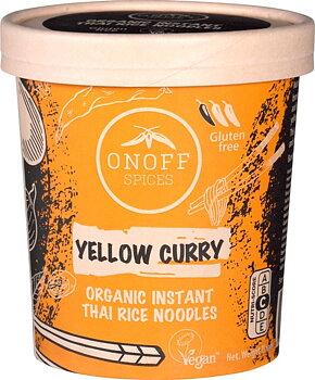 Nudlar Instant Gul Curry 75g Onoff Eko