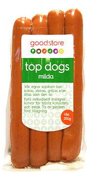 Korv Top Dogs Classic 200g Goodstore ord. 25 kr