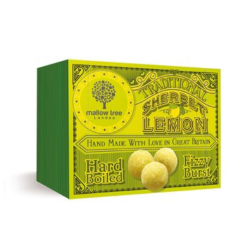 Godis Lemon Sherbet 60g Mallow Tree