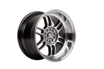 "59°North Wheels D-006 10,5x18"" ET15 5x114,3/5x120 Hyperblack/polished lip"