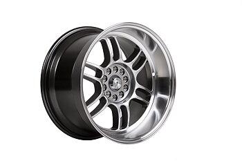 "59°North Wheels D-006 10,5x18"" ET15 5x114,3/5x120 Hyperblack/polished lip"