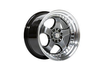 "59°North Wheels D-002 9,5x18"" ET20 5x114/5x120 Hyperblack/polished"