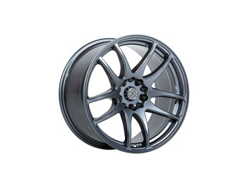 "59°North Wheels D-001 9,5x18"" ET20 5x114/5x120 Gunmetal"